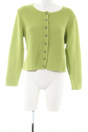 Country Line Knitted Blazer green casual look
