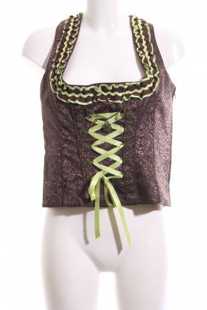 Country Line Traditional Blouse bronze-colored-green extravagant style