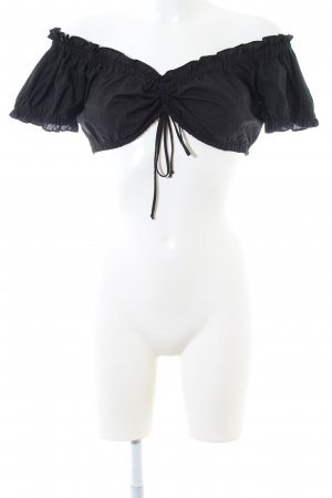 Country Line Traditional Blouse black casual look