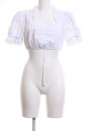 Country Line Traditional Blouse white casual look
