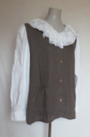 Country Line Trachtenbluse mit Spitze meliert Country-Look