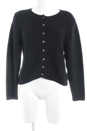 Country Line Folkloristische jas zwart casual uitstraling