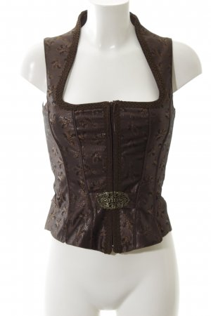 Country Line Traditional Camisole bronze-colored-brown flower pattern elegant