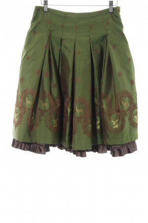 Country Line Traditional Skirt abstract pattern party style