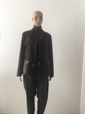 Gerry Weber Wool Blazer black brown