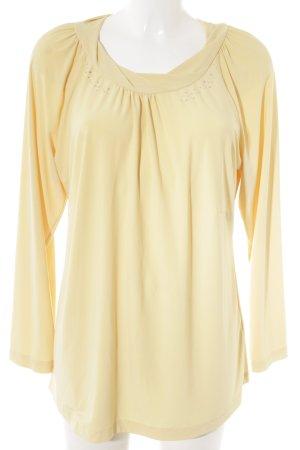 Couture Line Longsleeve gelb Elegant