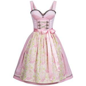 Dirndl pink cotton