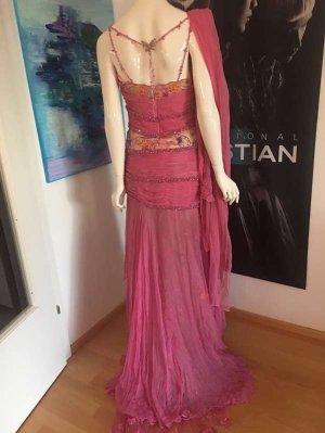 Couture Runway Kleid Luxus Stickerei Traumstück Butterfly 34/36