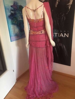 couture Lace Dress multicolored