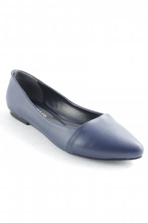 Coveri & Co Ballerinas mit Spitze dunkelblau Business-Look