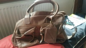 Cowboy Bag - graubraun, original - Mittlere Größe