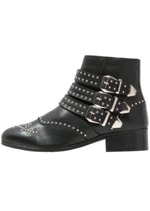 Zign Western Booties black leather