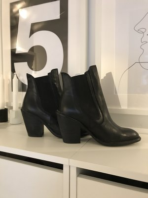 Buffalo Western Booties black
