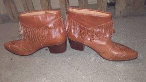 cowboy Boots aus Leder Gr.37