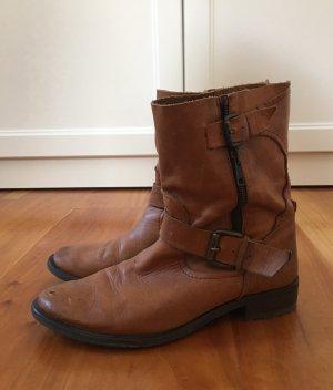 Zara Western Boots multicolored