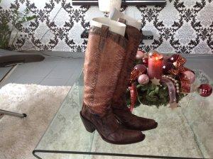 Cowboy Stiefel, 39 aus Leder