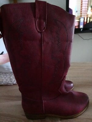 Western Boots brown red