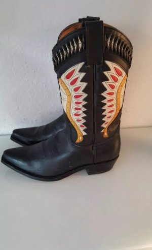 Cowboy Stiefel gr 42 schwarz Indianer Sendra