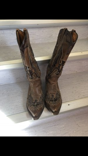 Cowboy Stiefel Leder 38