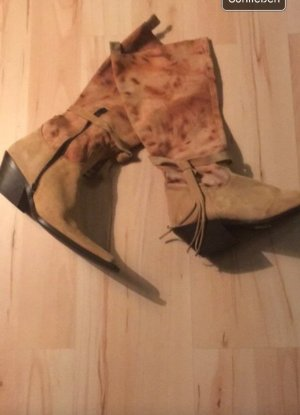 Botas estilo vaquero multicolor Gamuza