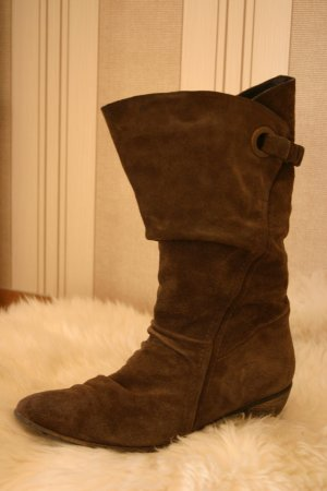 Tamaris Western Boots brown leather