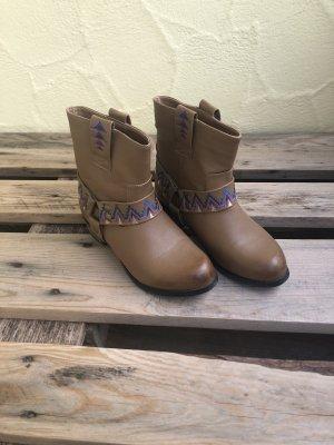 Tally Weijl Desert Boots camel-lilac