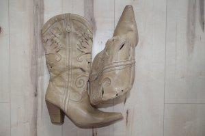 Cowboyboots von Graceland mit schönem Muster, sehr bequem