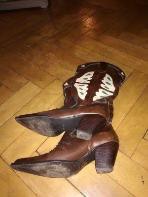 Nine west Western Boots multicolored
