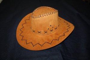 Chapeau de cow-boy orange foncé-rouille
