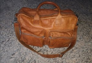 Cowboysbag Weekender Bag cognac-coloured