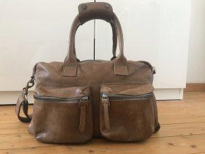 "Cowboys Bag ""The Bag"" Small in beige braun (elephant grey)"
