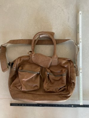 Cowboysbag Sac porté épaule chameau cuir