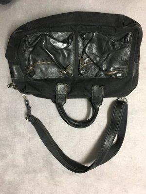 Cowboysbag Leder/Stoff Tasche