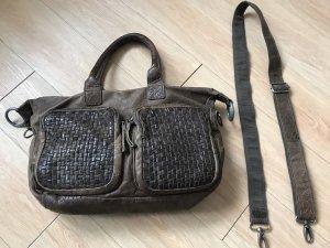 Cowboysbag Shoulder Bag light brown-taupe leather
