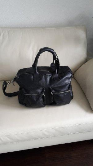 Cowboysbag The Bag Tasche big schwarz Leder große Ledertasche Weekender Shopper
