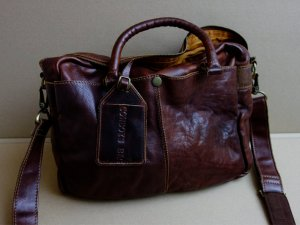 Cowboysbag Borsa pc multicolore Pelle
