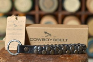 Cowboysbelt Key Chain multicolored leather