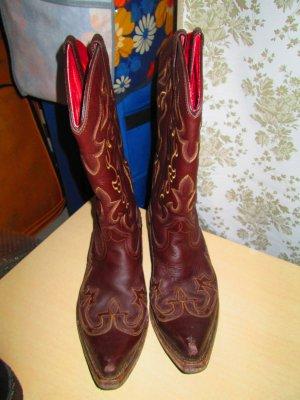 Cowboystiefel / Boots Gr. 42 (Echtleder)
