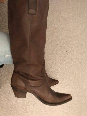 Western Boots dark brown