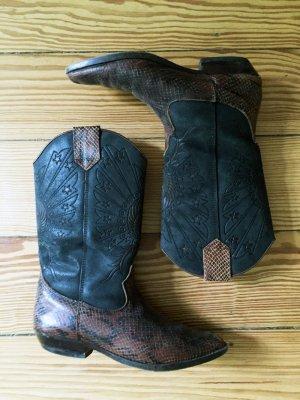 Cowboystiefel Vintage Cowboy Boots - Kroko - 39