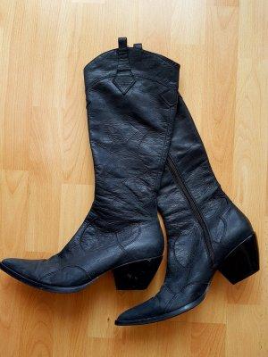 Western Laarzen zwart