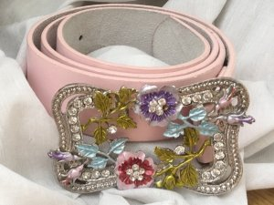 Cinturón de cadera rosa