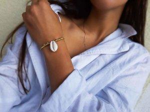 Cowrie Shell/Kauri Muschel Armband