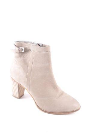 Cox Ankle Boots beige klassischer Stil