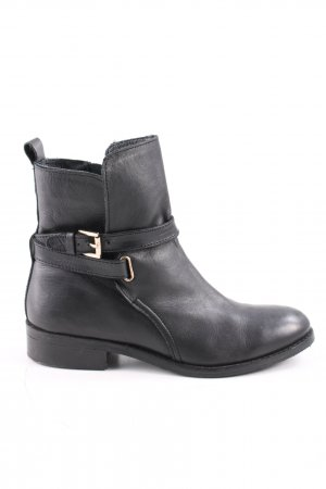 Cox Chelsea Boots black business style