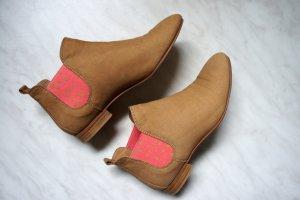 Cox Chelsea Boots (braun), Echtleder, Gr. 37