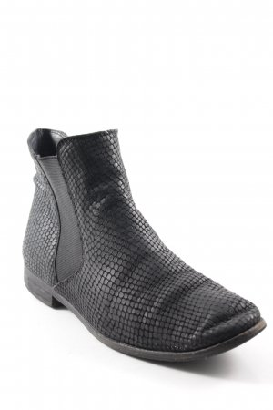 Cox Chelsea Boots black spot pattern simple style