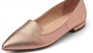 Cox Metallic Leder Slipper