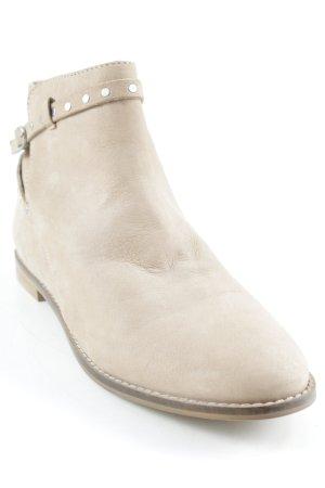 Cox Reißverschluss-Stiefeletten beige Casual-Look