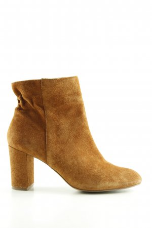 Cox Zipper Booties light orange casual look